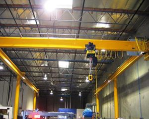 indoor cranes are prepared for customers.