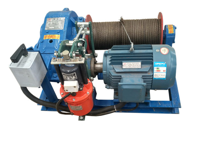 light duty electric winch